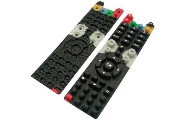 精品遥控器硅胶按键