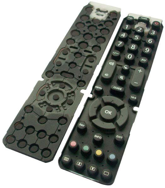 硅胶遥控器按键