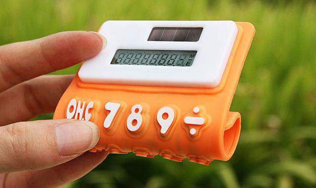 创意可折叠计算器硅胶按键