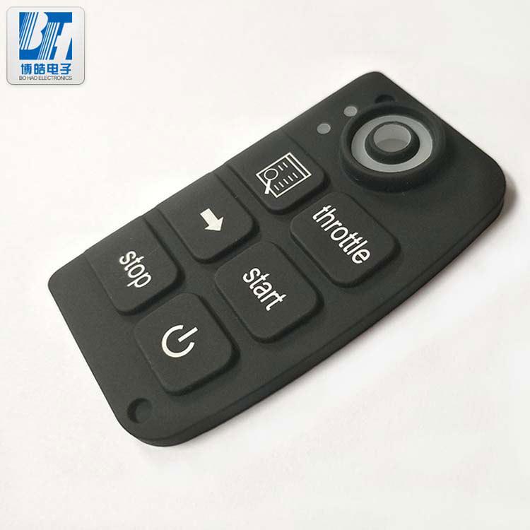 博皓为什么能大量生产汽车中控屏硅胶按键?