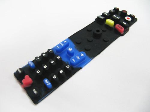 荧光硅胶遥控器按键