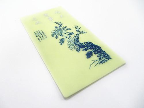 荧光硅胶垫片 荧光硅胶板