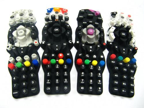 多色硅胶遥控器按键