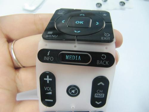 丝印工艺亚克力遥控器按键丝印效果图