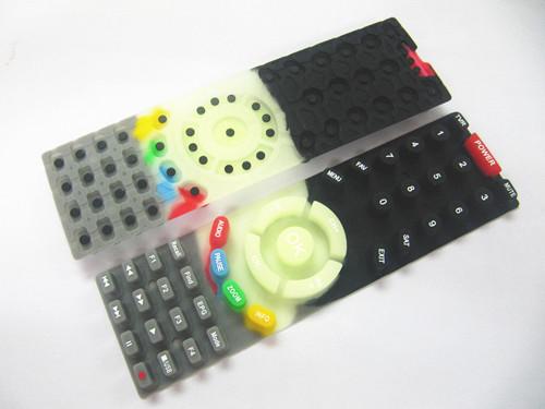 荧光导电硅胶遥控器按键