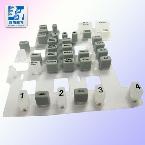 工程机械设备硅胶按键防水耐磨